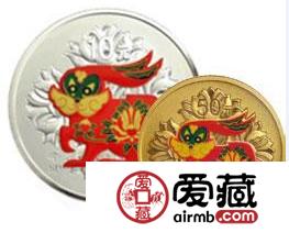 2011年彩色金银纪念币