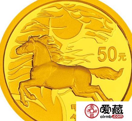 扇形金银马纪念币最新价格行情