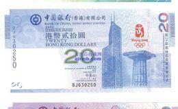 纪念钞价格表和图片介绍