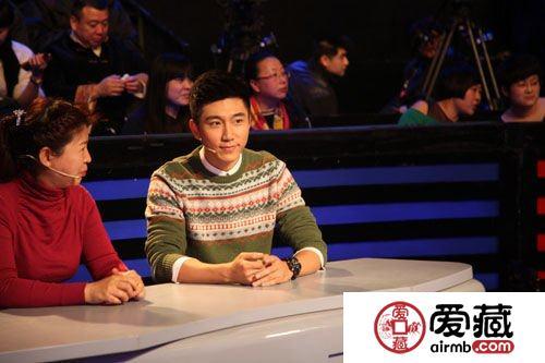 青年演员徐乐同参加《收藏马未都》 节目互动精彩绝伦