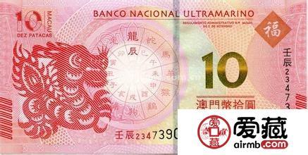 辰龙生肖纪念钞市场行情分析