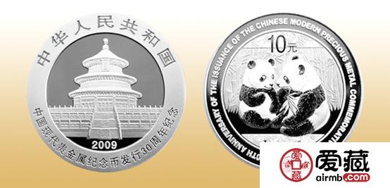 现代金银纪念币图片和价格详情介绍