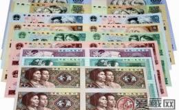 浅谈长城连体钞四连体的市场行情及其收藏价值