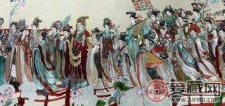 八十七神仙卷有着较高的收藏价值