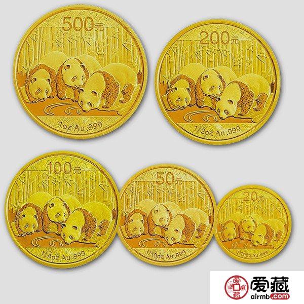 自成一派的熊猫金银币