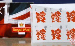 伦敦奥运纪念邮票可谓是激情电影界中珍稀品