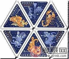 邮票市场新血液,异形邮票大放异彩