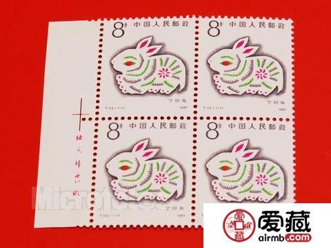 画面图案出彩的兔年邮票整版