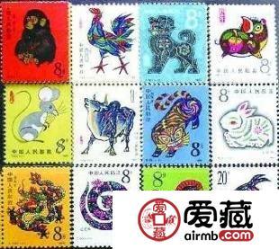 中华民族文化和风俗浓厚的生肖邮票