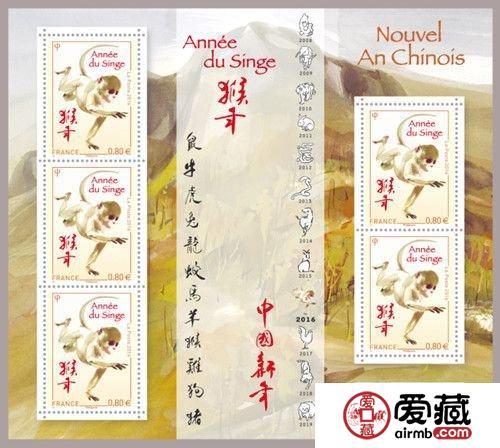 法国将发行最后一枚中国生肖邮票 华裔艺术家设计