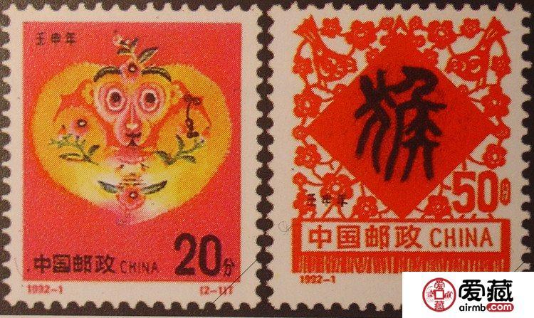 生肖邮票猴子占山为王,地位无可撼动