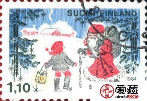 盘点那些圣诞邮票,人情味尤为浓郁