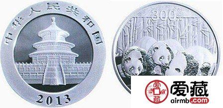 2013熊猫金银币价格的走势
