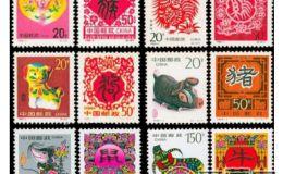 第二轮生肖邮票大版票有激情小说价值吗