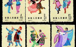 特种邮票 特53 中国民间舞蹈(第二组)