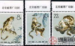 特种邮票 特60 金丝猴
