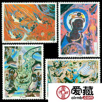 T150 敦煌壁画(第三组)邮票