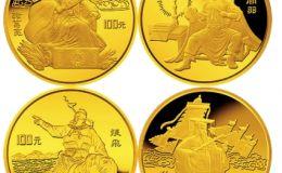 三国演义金币再现三国风采