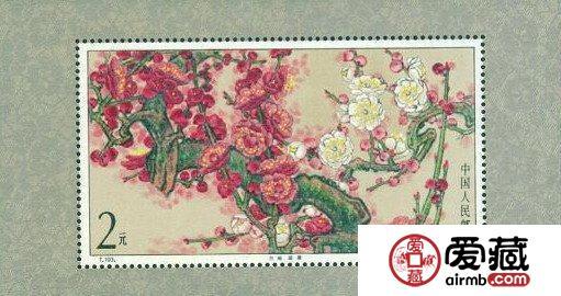 中国花卉邮票的特殊之处