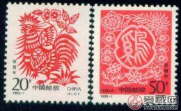 1993年生肖鸡邮票中的文化内涵