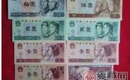 第四版人民币行情价格趋向