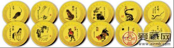 12生肖彩色金币是什么样的 价格贵不贵