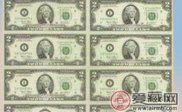 八连体连体钞  收藏界的一方霸主