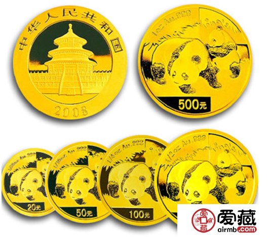 2008年熊猫金币套装已经是投资收藏新宠,你还在等什么?