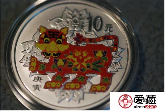 2010年彩金银币的收藏