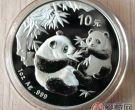 1999年1盎司彩色熊猫银币的收藏价值