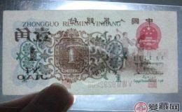 第三套人民币背绿的地位不可撼动