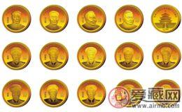 闻名中外的开国伟人纯金银纪念币