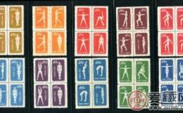 我国第一套体育邮票的发行故事