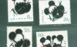 85年熊猫邮票受到热捧