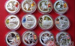2008年奧運金銀幣  題材設計獨特有價值