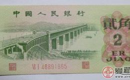 第三套人民幣2角價格介紹