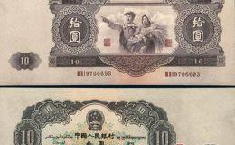 第二套人民币10价格分析