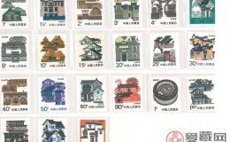 民居邮票,凝固艺术的魅力展现