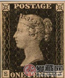 世界珍贵邮票黑便士