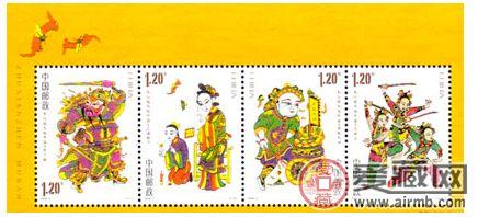 朱仙镇年画小全张是第一批列为国家文化遗产的藏品