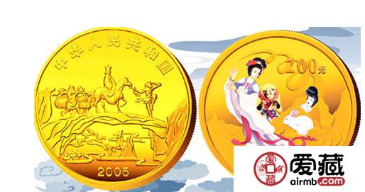 现在送礼都流行送收月兔彩金币