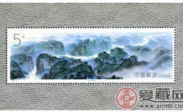 长江三峡小型张持续升值