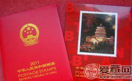 2011年邮票年册价格翻倍涨