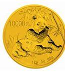 珍稀熊猫金银币