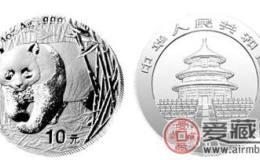 2001年熊猫银币有没有收藏价值?