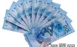 收藏国外纪念钞当选奥运题材相关的品种