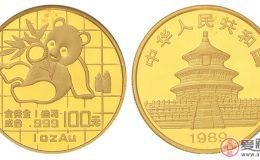 1989年熊猫金币稀少的投资热点