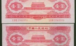 几何翻倍的1953年1元人民币价格