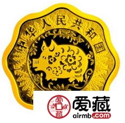2007年猪年5盎司金币