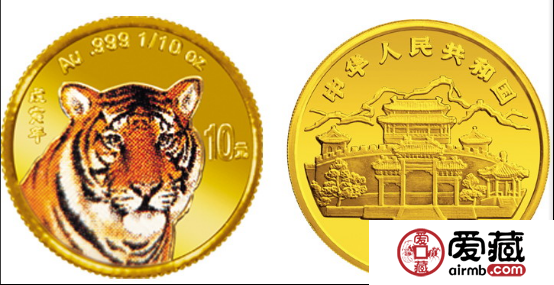 为什么1998年虎年彩色金币更受欢迎